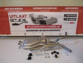 Complete Uitlaat Volkswagen Beetle 2.0  11/98 tot 07-2007 (1A)
