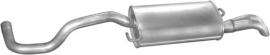 Einddemper Seat Cordoba 1.9 SDi Diesel, 1.9 TDi Turbo Diesel, 1.9 Turbo Diesel