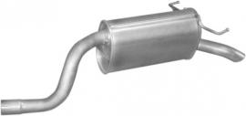Einddemper Fiat Punto 1.9DS Diesel