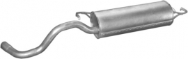 Einddemper Volkswagen Golf 4 1.4 16V