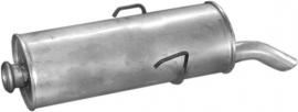 Einddemper Citroën Saxo 1.0, 1.1, 1.4, 1.5, 1.6, bj 1996-2004