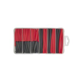 Krimpkous zwart/rood assortimentsdoos