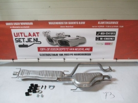 Complete Uitlaat Opel Zafira 2.0TD Di DTi (73)