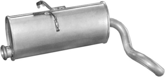 Einddemper PEUGEOT PARTNER 1.9 Diesel, 1.8 Diesel, 1.1i , 1.4i , 1.8i , 1.6i 16V