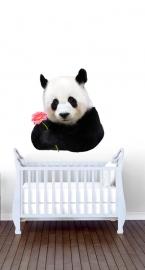 Wandaufkleber mit Panda