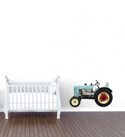 Wall decal Tractor