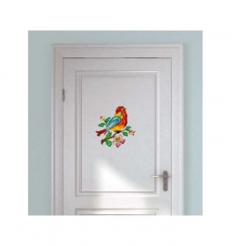 Wall decal Embroidered Bird