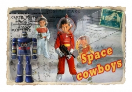 Iron-on Space Cowboys VAN IKKE