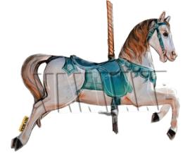 Carrousel paard