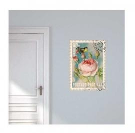 Briefmarke mit Blume