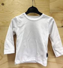 Wit shirt met applicatie