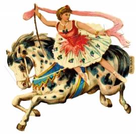 Iron-on Circus paard