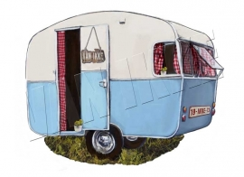 Iron-on Caravan VAN IKKE