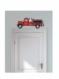 Wall decal Fire truck