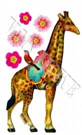 iron-on giraffe VAN IKKE