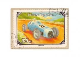 Kaart race-auto