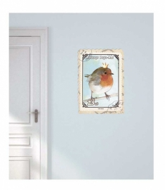 Wall decal Robin