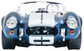 Muursticker race auto blauw