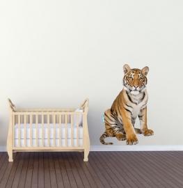 Muursticker tijger