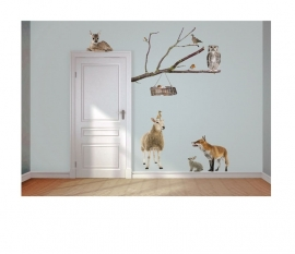 Wall decal Animals