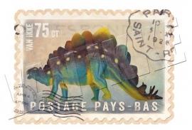 Postzegel dino 2