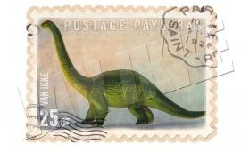 Dinosaurier-Briefmarke 3