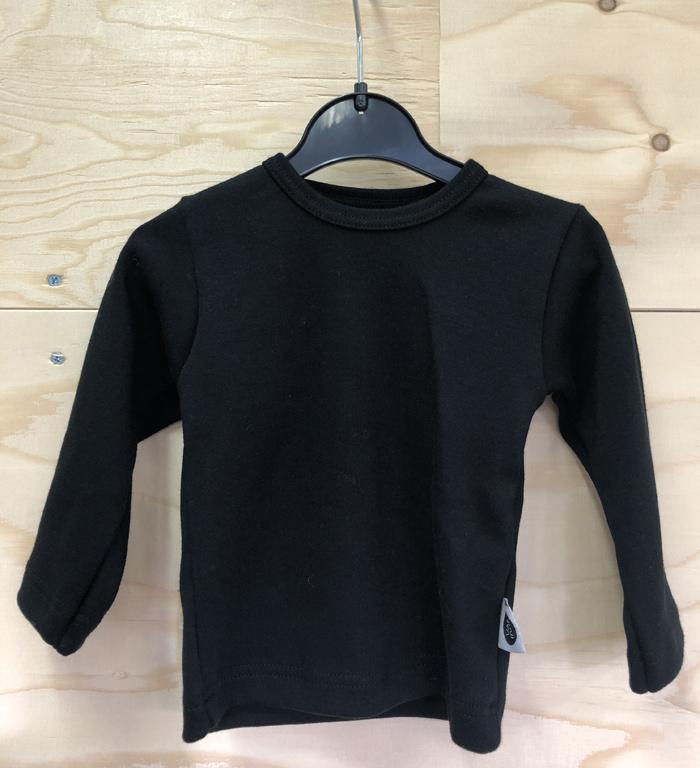 Zwart shirt met applicatie