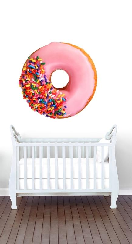 Muursticker donut