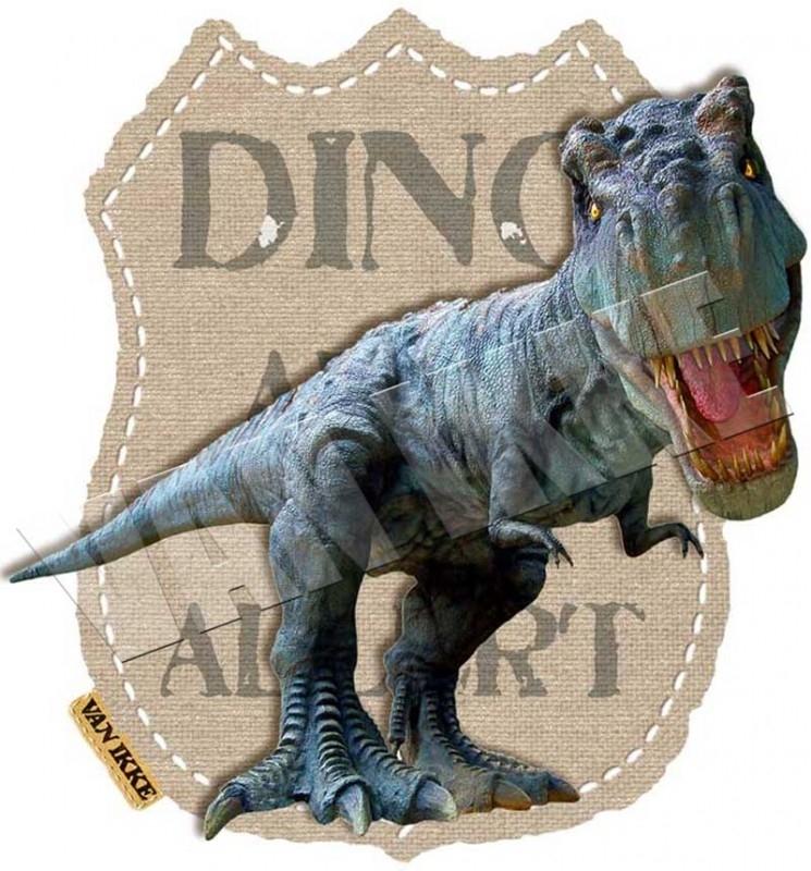 iron-on Dino alert