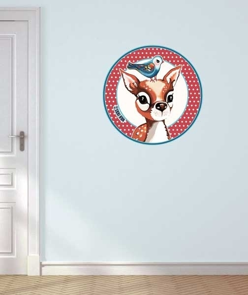 Canvas Wall Decal Hertje VAN IKKE 2