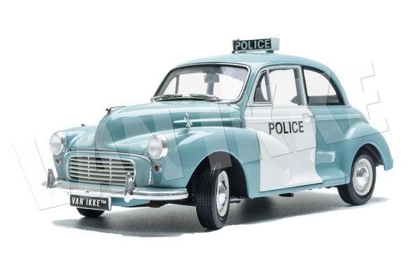 Muursticker Politie auto