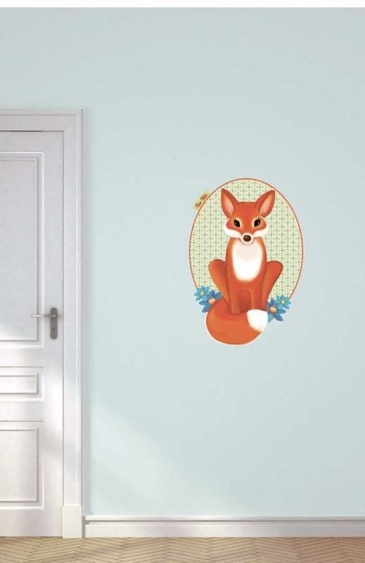Wall decal little Fox