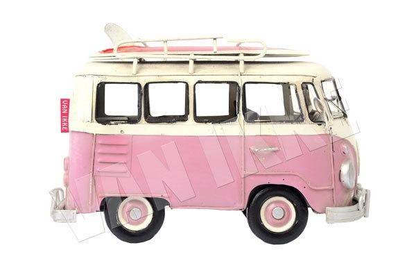 Roze bus