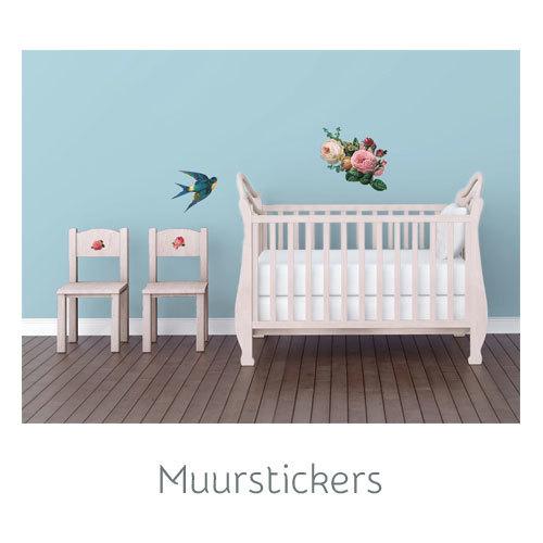 Gave muurstickers voor de kinderkamer van vanIkke.nl
