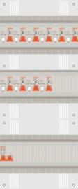1 fase groepenkast met 10 aardlekautomaten