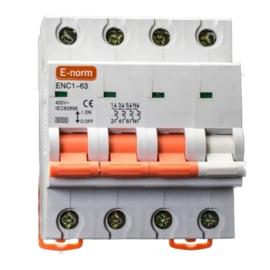 Installatieautomaat 3P+N 16A-C