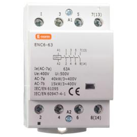 Installatie-relais 4P 63A