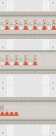 3 fase groepenkast met 10 aardlekautomaten