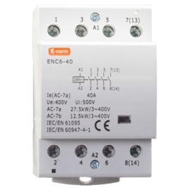 Installatie-relais 4P 40A