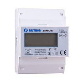 3 fase LCD modulaire kwh meter 100A Multirate