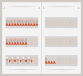 15.372.2000.40 - 3 fase 40A groepenkast-veldverdeler met 20 groepen