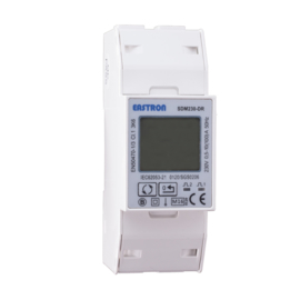 1 fase LCD kwh meter 100A MID