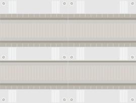 48 modulen kast met buisinvoer