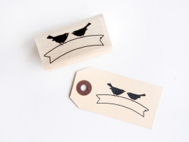 Stamp | Banderole Birds