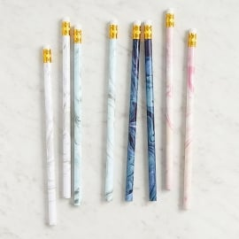 Marbled Pencil Set | 8 pieces