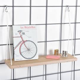 Wire mesh moodboard plankje