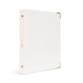 Mini binder | White patent