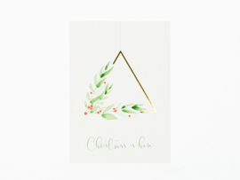 Dreamkey x Mevr. Knot X-mas | Christmas card Christmas is here
