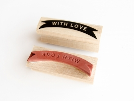 Stamp | Banderole With Love