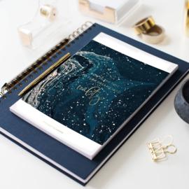 Jo&Judy Project planner - blauw